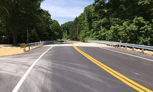 Old Lemay Ferry Road Bridge Completed